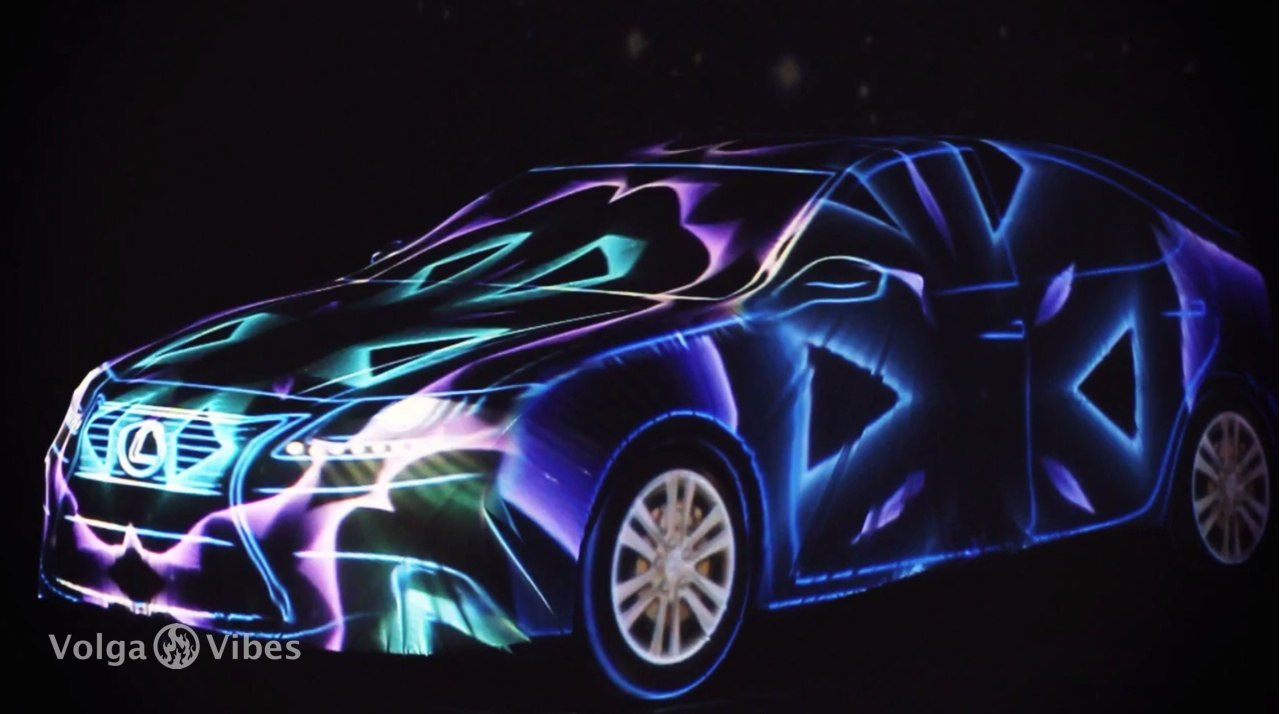 Презентация нового Lexus ES в Театре Драмы, Саратов, 4 ноября 2012