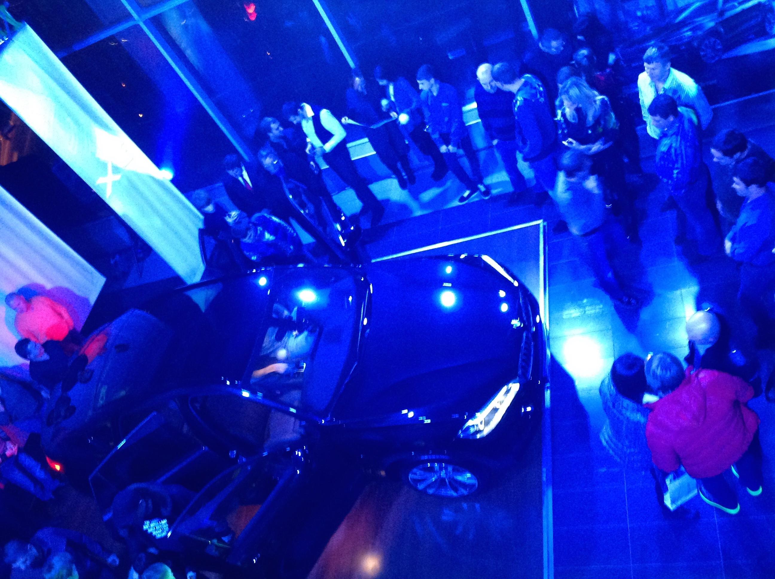 Презентация нового BMW X6 в Саратове, 6 декабря 2014