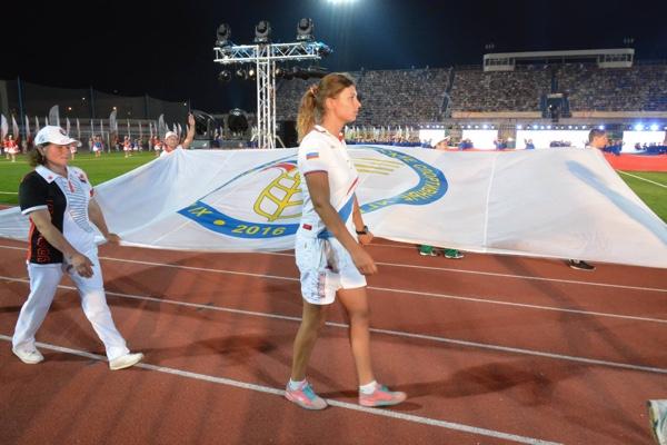 Церемония открытия «XI всероссийских летних сельских спортивных игр», Саратов