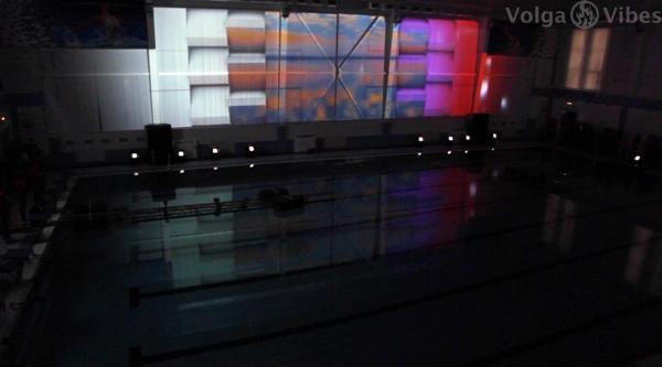 Открытие бассейна СГЮА, Саратов, 18 апреля 2014