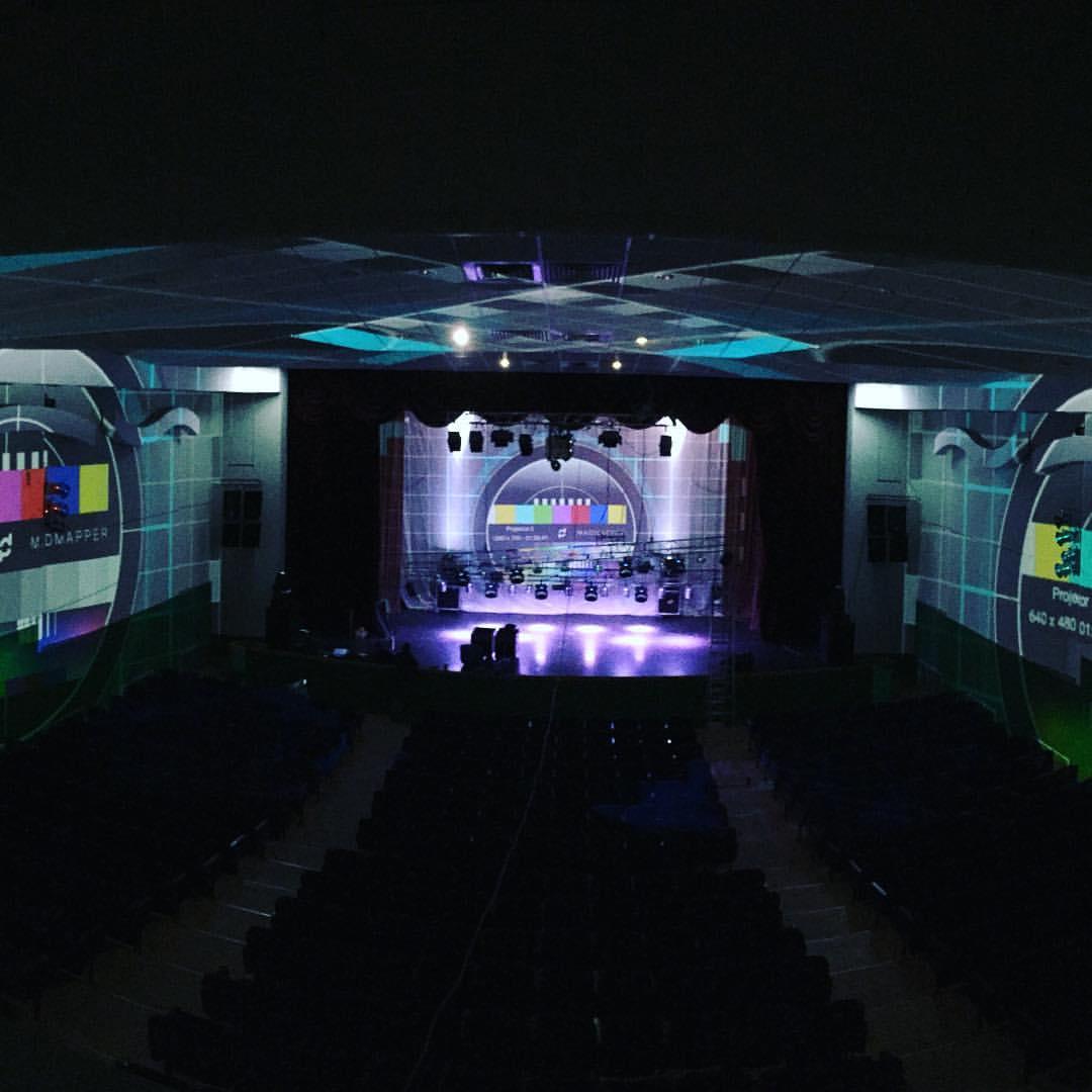 3д мэппинг шоу для гала-концерта ССЭИ